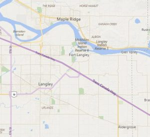 SEO Marketing Agency in Langley BC Map